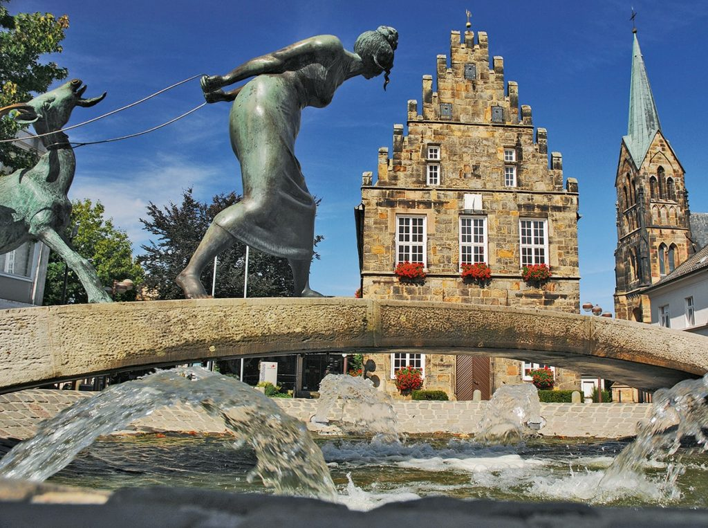 Ziegenbrunnen in Schüttorf
