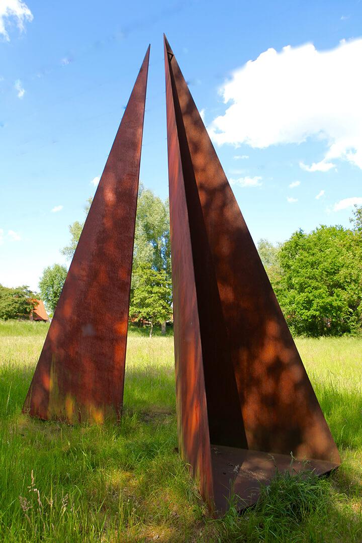 Skulptur Schicksal