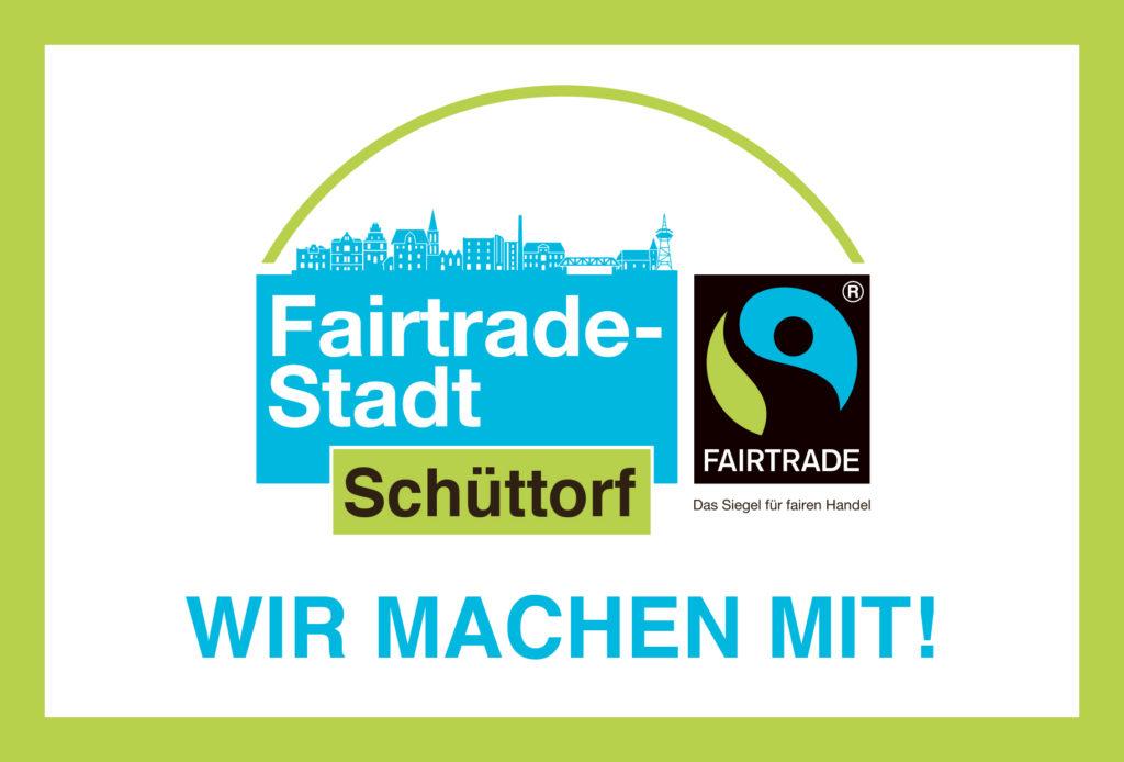 FairTrade Aufkleber Schüttorf