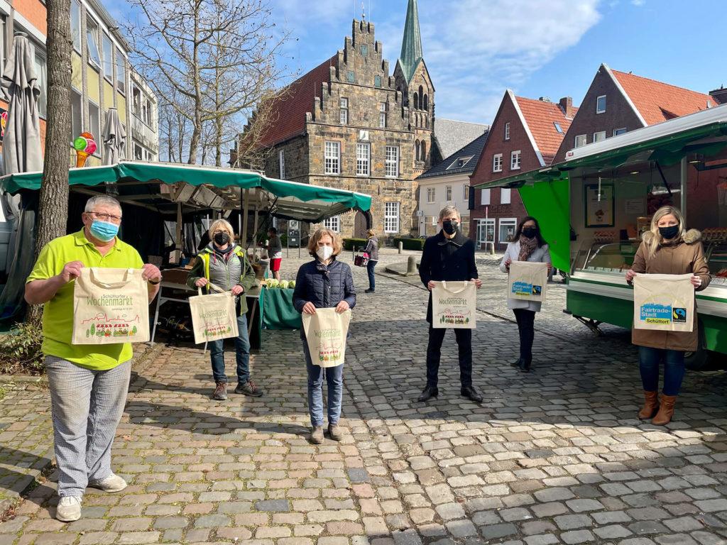 Wochenmarkt und FairTrade