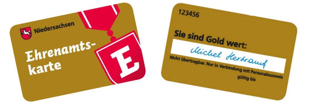 Ehrenamtskarte Niedersachsen