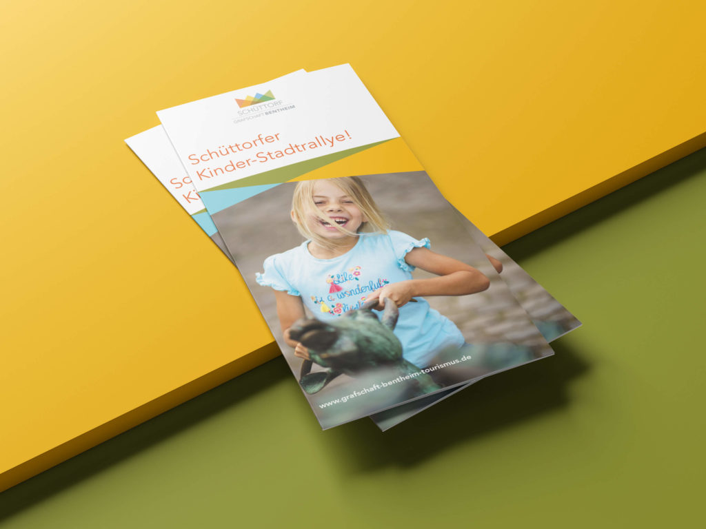 Flyer für die Schüttorfer Kinderrallye